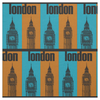 Big Ben in London, Ver. 2 Fabric