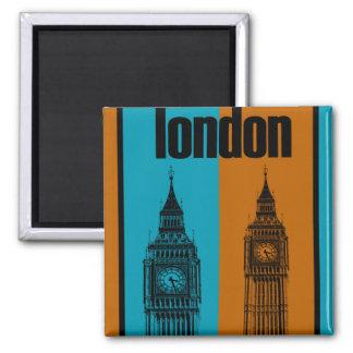 Big Ben in London, Ver. 2 Magnet