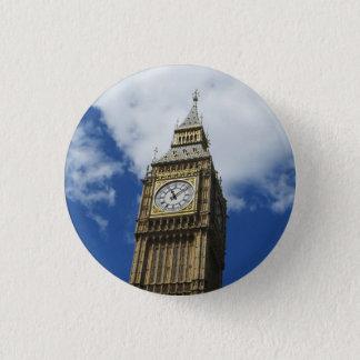 Big Ben, London, England 1 Inch Round Button
