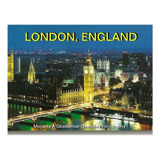 BIG BEN LONDON, ENGLAND BY MOJISOLA A GBADAMOSI OK POSTCARD