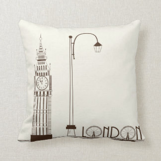 Big Ben London England Decorative Throw Pillow