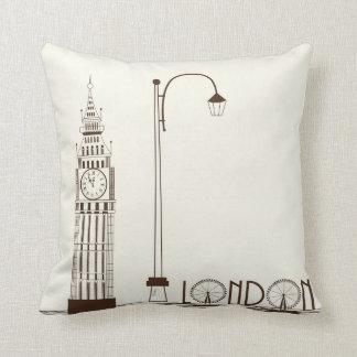 Big Ben London England Decorative Throw Pillow