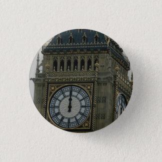 Big Ben, London, England, U.K. 1 Inch Round Button