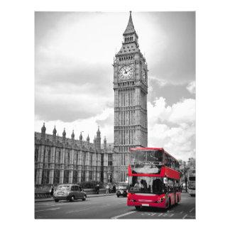 Big Ben London Letterhead