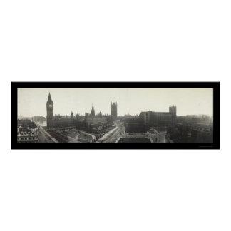 Big Ben London Photo 1919 Poster