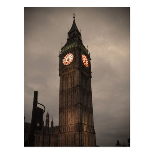 Big Ben, London Postcard