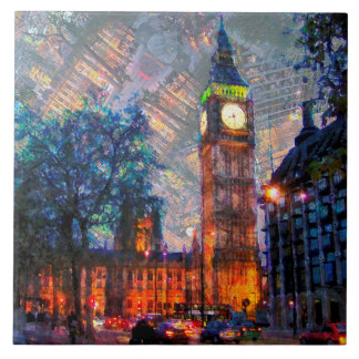 Big Ben London Tile