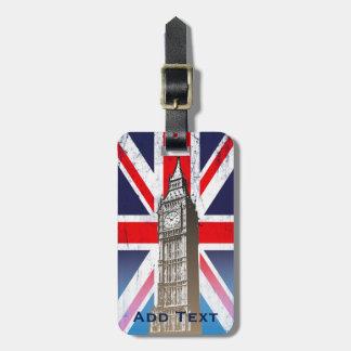 Big Ben - London, U.K. Bag Tag