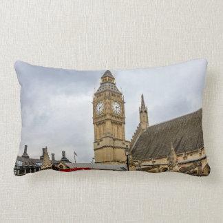 Big Ben London UK Lumbar Pillow