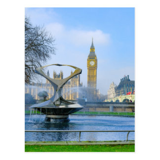 Big Ben London Westminster UK Postcard