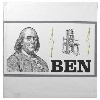 big ben napkin