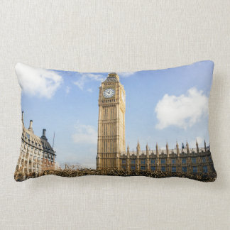 Big Ben On A Sunny Day, London UK Lumbar Pillow