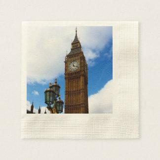 Big Ben Paper Napkin