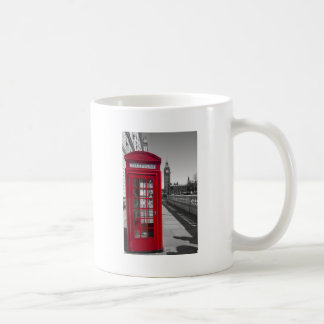 Big Ben Red Telephone box Coffee Mug