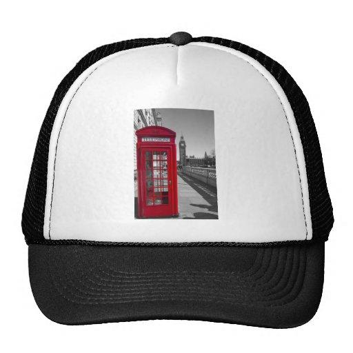 Big Ben Red Telephone box Mesh Hat