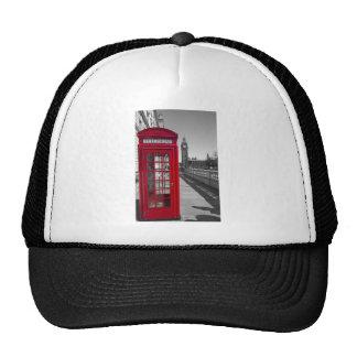Big Ben Red Telephone box Trucker Hat