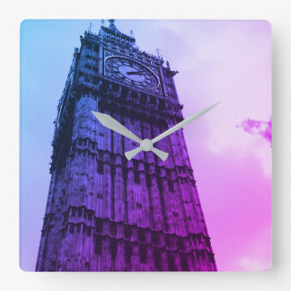 Big Ben Square Wall Clock