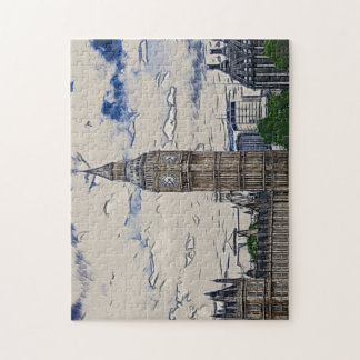Big Ben tower Jigsaw Puzzle