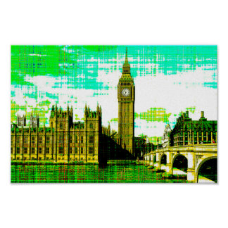 Big Ben Tower, London 1.jpg Poster