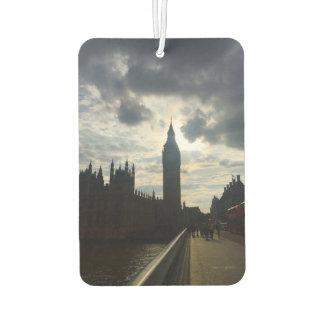 Big Ben Westminster London United Kingdom UK Photo Car Air Freshener
