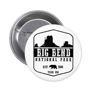Big Bend National Park 2 Inch Round Button