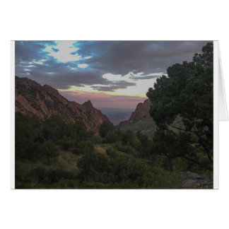 Big Bend National Park Window View Card