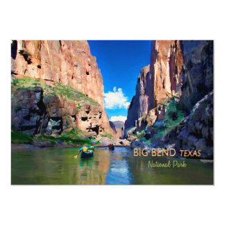 Big Bend Texas National Park Mariscal Canyon Card
