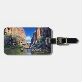 Big Bend Texas National Park Mariscal Canyon Luggage Tag