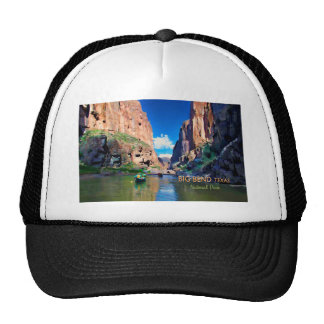 Big Bend Texas National Park Mariscal Canyon Trucker Hat