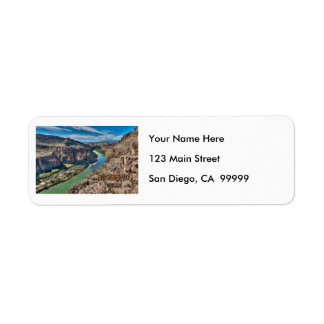 Big Bend Texas National Park Rio Grande Return Address Label