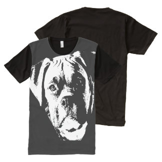 Big, Big Dog All-Over-Print T-Shirt