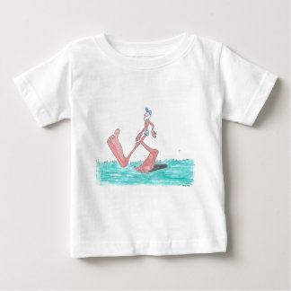"""Big"" Bigfoot Baby T-Shirt"