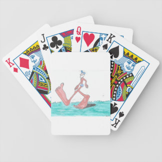 """""""Big"""" Bigfoot Bicycle Playing Cards"""