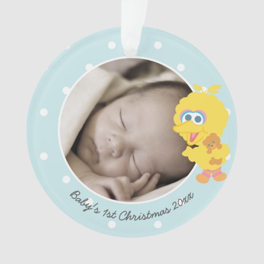 Big Bird | Baby's First Christmas - Add Your Name