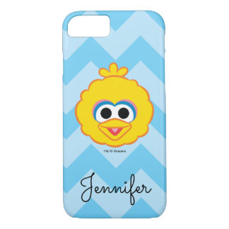 Big Bird Smiling Face | Add Your Name iPhone 7 Case