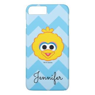 Big Bird Smiling Face | Add Your Name iPhone 7 Plus Case