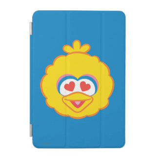Big Bird Smiling Face with Heart-Shaped Eyes iPad Mini Cover