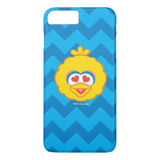 Big Bird Smiling Face with Heart-Shaped Eyes iPhone 7 Plus Case