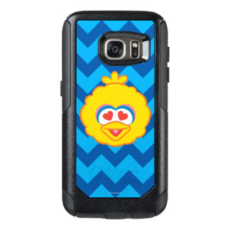 Big Bird Smiling Face with Heart-Shaped Eyes OtterBox Samsung Galaxy S7 Case