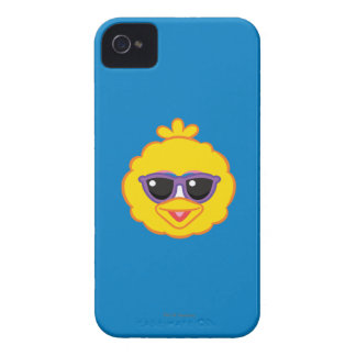 Big Bird Smiling Face with Sunglasses iPhone 4 Case-Mate Case