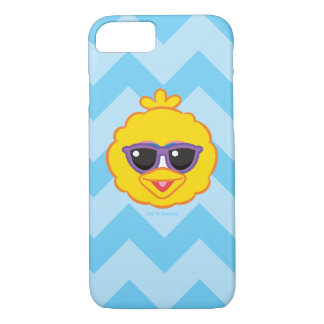 Big Bird Smiling Face with Sunglasses iPhone 7 Case