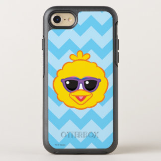 Big Bird Smiling Face with Sunglasses OtterBox Symmetry iPhone 7 Case