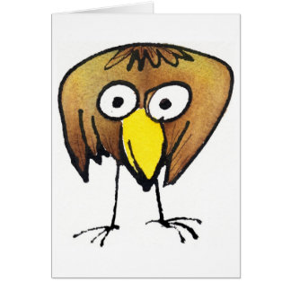 Big Birdie Notecard
