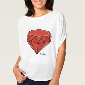 Big Birthstone series –Ruby T-Shirt