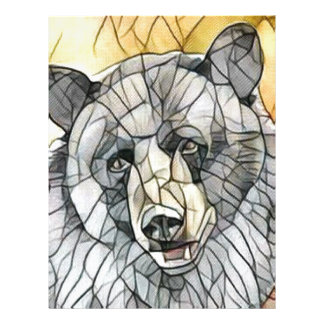 Big Black Bear Letterhead