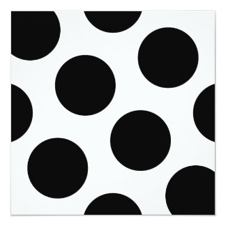 Big Black Dots Card