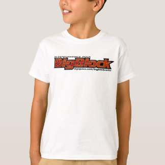 Big Block T-Shirt, Kids Sizes T-Shirt