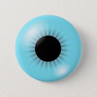 Big Blue Eyeball 2 Inch Round Button