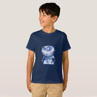 big blue eyes weird man funny cartoon T-Shirt