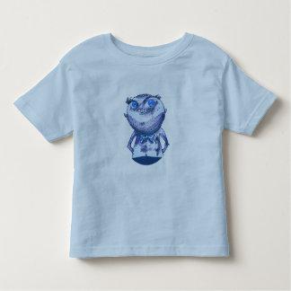 big blue eyes weird man funny cartoon toddler t-shirt